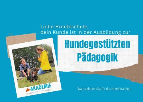 Broschüre Hundeschule zum Download